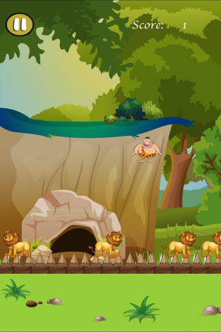 Crazy Caveman Jumping Rush Pro - Addictive Jungle Rescue screenshot 4