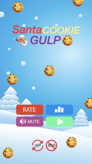 Santa Cookie Gulp Pro - Santa's Christmas Eve Cookies Milk Adventure