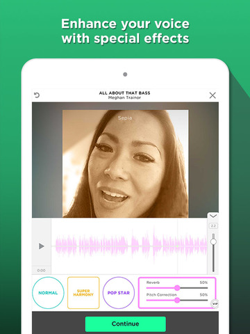 how to use smule sing app