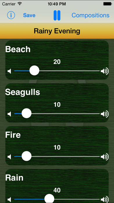 Sounds Of Nature iPhone Screenshot 3