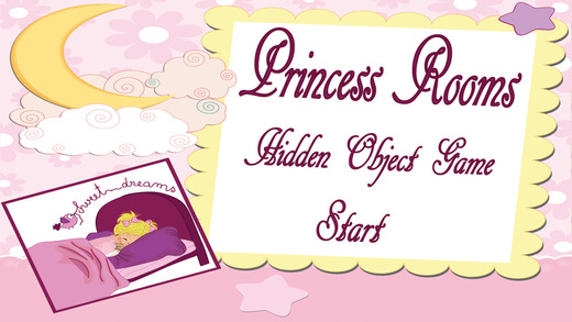 Princess Rooms Hidden Objects Game