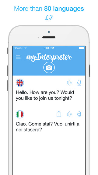 my interpreter translator app