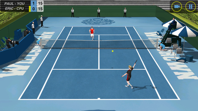 Flick Tennis - iPhone Mobile Analytics and App Store Data