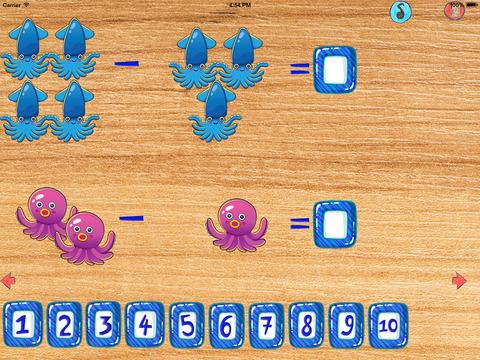 Математика для детей - моря и океаны