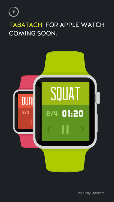 TABATACH - Interval Workout Timer for High Intensity Interval Training (HIIT) : TABATA & any Circuit Training Screenshot