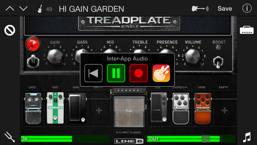 【免費音樂App】Mobile POD - Guitar Amps and Effects-APP點子