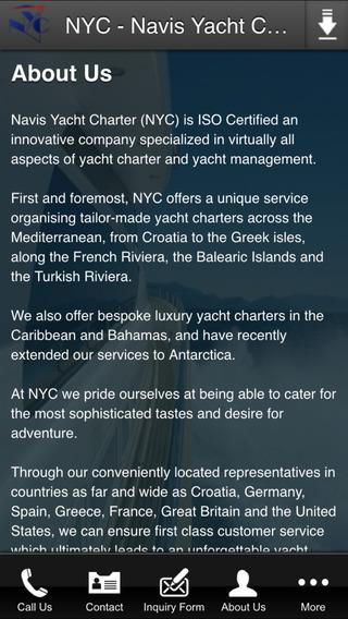 NYC - Navis Yacht Charter