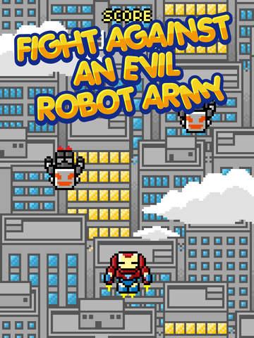 Invincible Iron Warrior : Brave Fight Of Future Justice Power