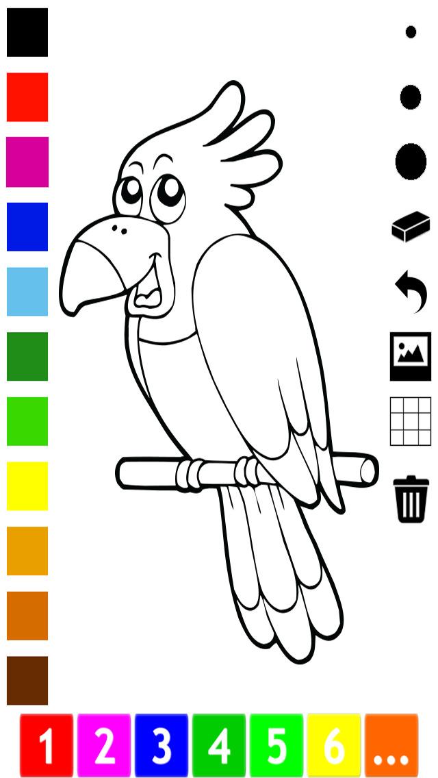 活动!图画书 图片像猫,狗,鱼,猪,鸟和鹦鹉:动物儿童