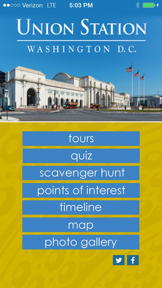 Union Station Tour: Washington DC.