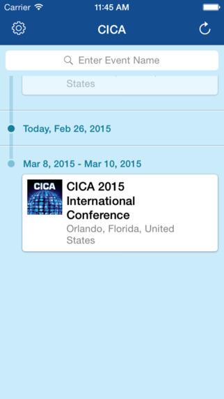 CICA International Conference Mobile App|玩商業App免費|玩APPs