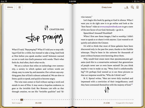 Crazy Love by Francis Chan on iBooks