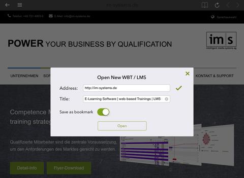 玩免費教育APP|下載IM|S WBT-Browser app不用錢|硬是要APP