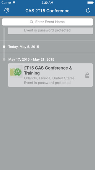 CAS 2T15 Conference