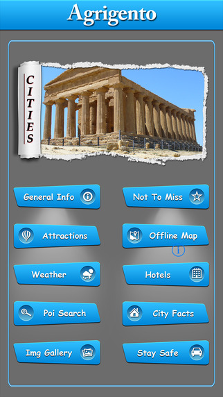 Agrigento Offline Map Travel Guide