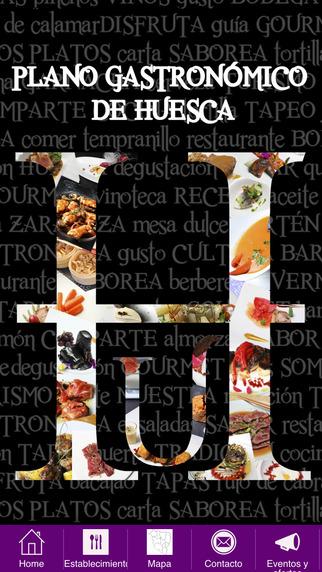 Plano Gastronómico Huesca