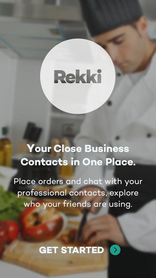 Rekki - Supplier Communication