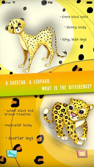 Cats With Spots - Amazing Animals Series Interactive Story Book Educational Apps