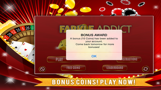 Farkle Addict Game FREE - Dice 10000 Points to Win Jackpot
