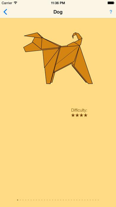 Origami: traditional models iPhone Screenshot 2