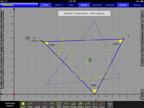 Interactive Geometry LT - Learn math one touch at a time