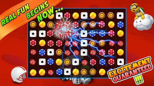 Casino Candy Mania Puzzle   Matching 3 Color Blitz to Win Free