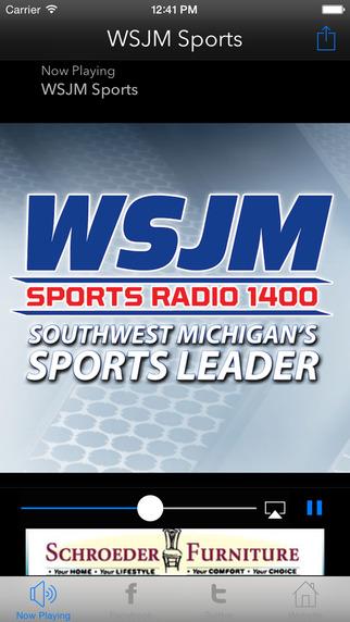 Sports Radio 1400 WSJM
