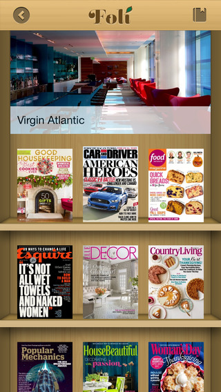 Foli - Read Digital Magazines Free at Businesses Near You