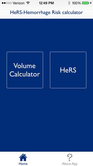 HeRS - Hemorrhage Risk Stratification Calculator