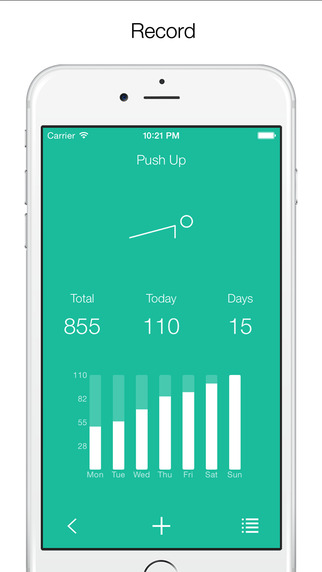 Fitastic - Record your daily exercise