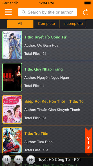 Truyện Audio Việt