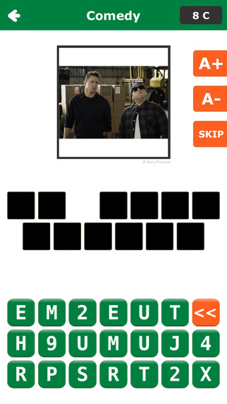 Best Scenes - Guess the Blockbuster Movie and Classic TV Show Trivia Word Quiz Game