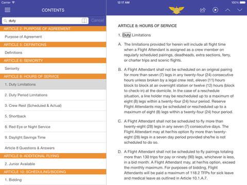 SkyConnect TWU556 iPad Screenshot 1