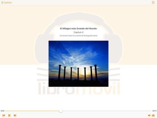 El Milagro más Grande del Mundo - Audiolibro iPad Screenshot 2