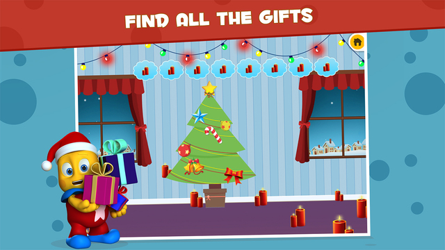 Christmas Eve Gift Hunt - Hidden Object Scanning for Montessori FREE