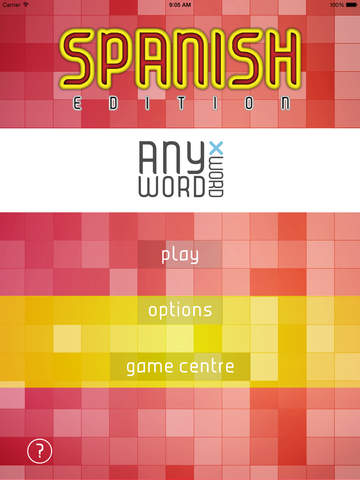 AnyWord Xword Spanish MFL Edition