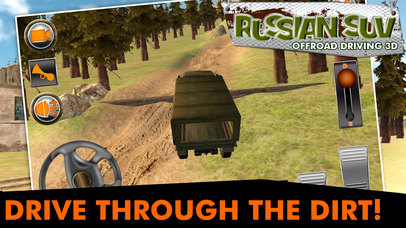 Russian SUV Offroad Driving 3D screenshot 2