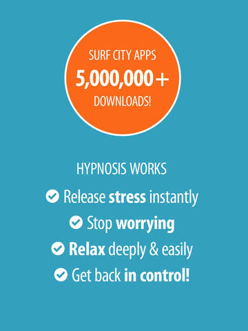 End Anxiety Hypnosis - Free Relieve Stress, Manage Worry, and Relax Deeply with Meditation and Hypnotism Edition for iPhone/iPad screenshot