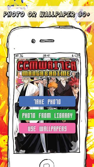 CCMWriter - Manga Anime Studio Design Text and Photo Camera