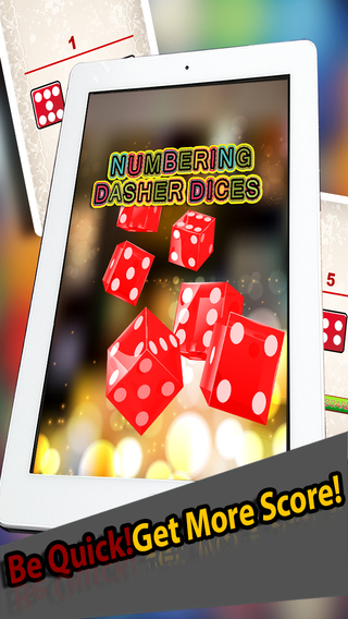 Numbering Dasher Dices Pro -Move The 10 000 Dice In Best Board Puzzle Game