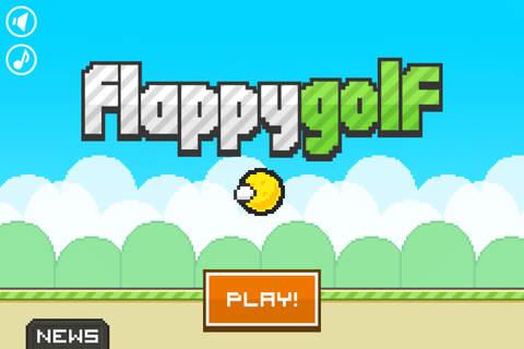 Screenshot 1 Flappy Golf