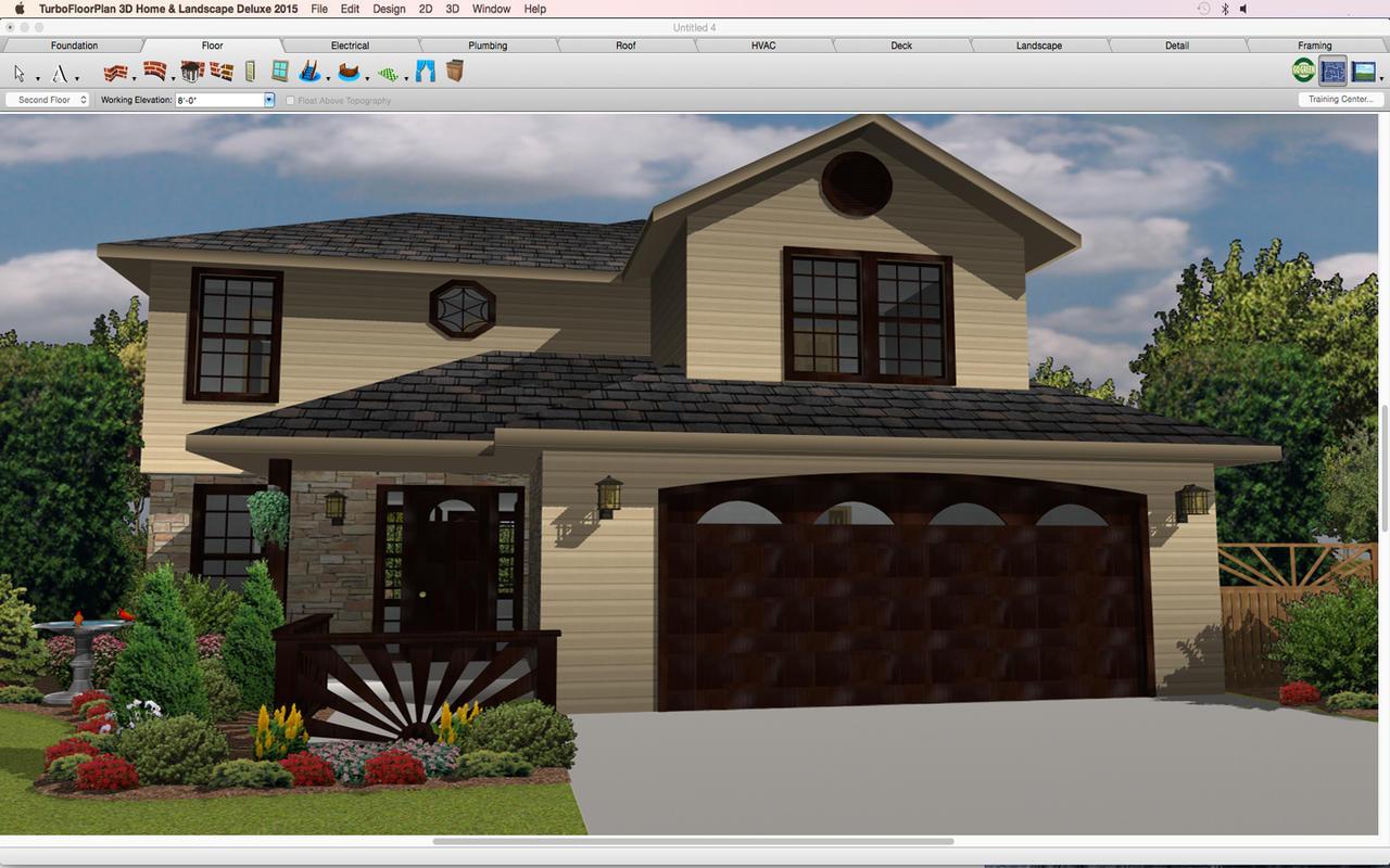 App shopper turbofloorplan 3d home landscape deluxe for 3d home architect landscape design deluxe 6