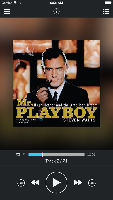 Mr. Playboy: Hugh Hefner and the American Dream by Steven Watts UNABRIDGED AUDIOBOOK