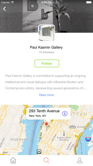 ARTLOCAL - your guide to discover new art, local trends, gallery and museum opening screenshot