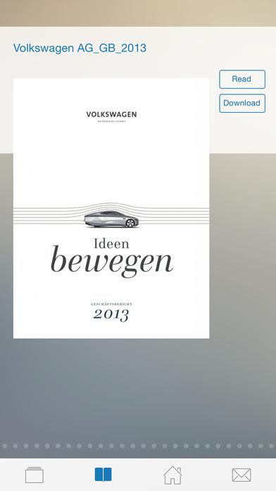 Report Investor - Der Kiosk für Geschäftsberichte und Unternehmenskommunikation iPhone Screenshot 3
