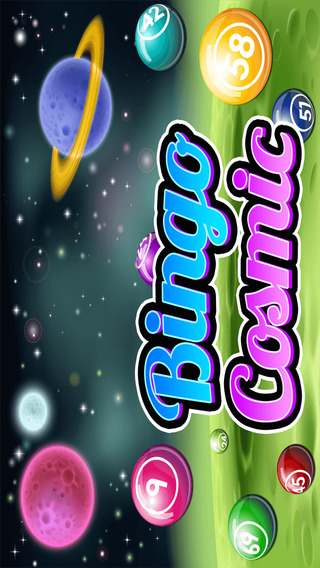Bingo Cosmic Blitz - Galactic Jackpot And Multiple Daubs With Vegas Odds