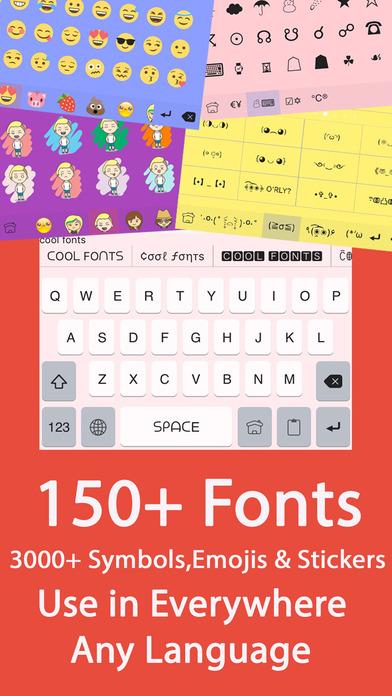 Symbol Infinity Cute Kaomoji Emoji Keyboard With Fancy Theme
