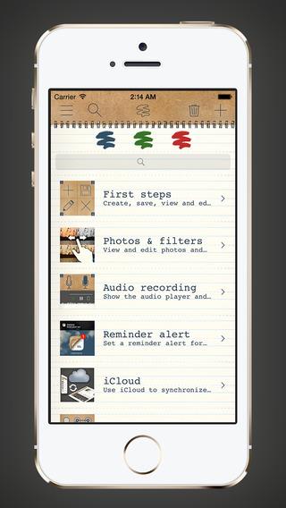 memono Notepad - Multimedia Notes Notebook