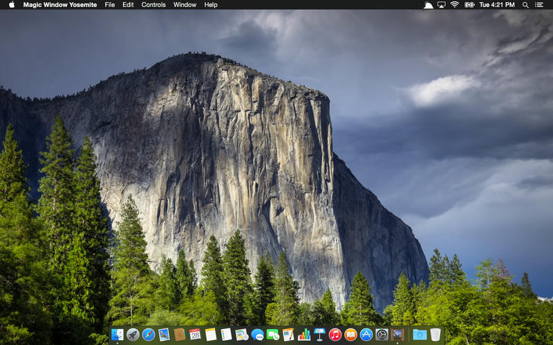 Magic Window Yosemite Screenshot - 3