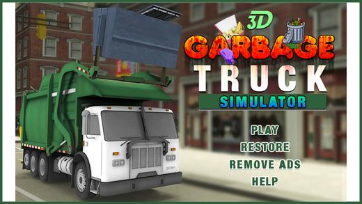 Garbage Excavator Simulator 3D - Real City Roads
